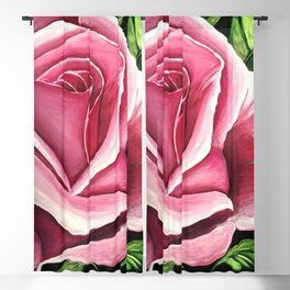 Pink Rose Blackout Curtain