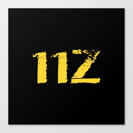 11Z Infantry MOS Canvas Print