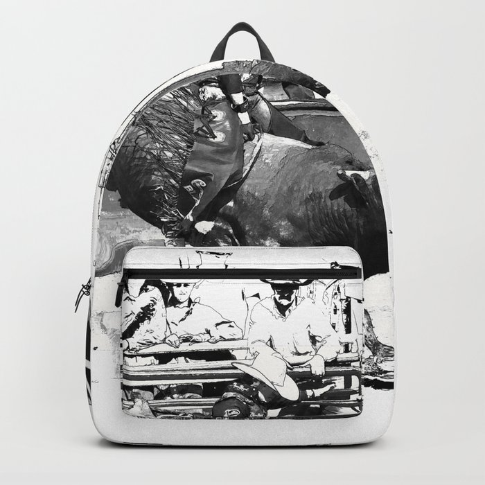 Rodeo Bull Riding Champ Backpack by onlinegifts