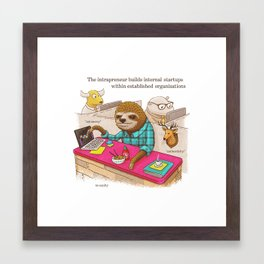 The Intrapreneur Framed Art Print