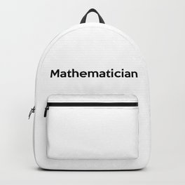 Mathematician Backpack