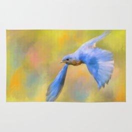 Bluebird Spring Flight Rug