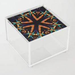 Tribal Geometric Acrylic Box