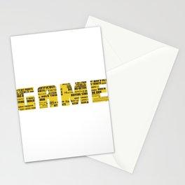 Best Trending Gaming Tshirt Design Game Stationery Cards