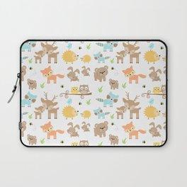 Woodland Animals Nursery Laptop Sleeve