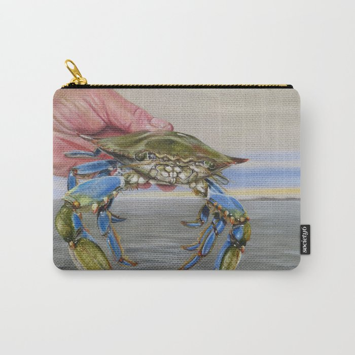 Crab Fingers Carry-All Pouch