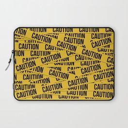 Caution Laptop Sleeve