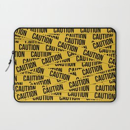 Caution Laptop Sleeve