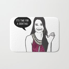 Cocktail Time Bath Mat