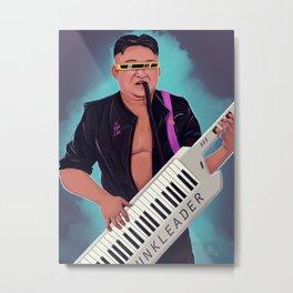 Kim Jong Funk Metal Print