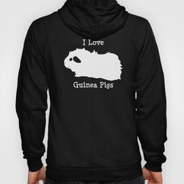 I Love Guinea Pig - Abyssinian Hoody