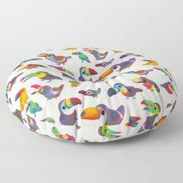 Toucan - pastel Floor Pillow