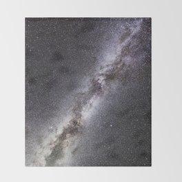Barred Spiral Galaxy Throw Blanket