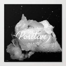 inspirational post  Canvas Print