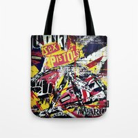 punk Tote Bags featuring Punk by Frank van Meurs