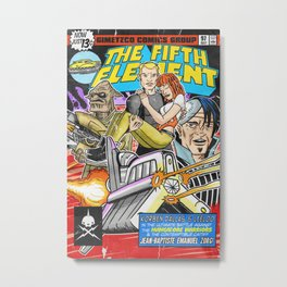 Bargain Bin: The 5th Element Metal Print