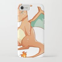 charizard iPhone & iPod Cases featuring Charizard by jimmy