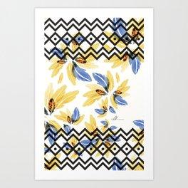 Plume 3 Art Print