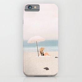 Beach Morning II iPhone Case