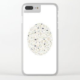 Sheep. Clear iPhone Case