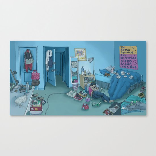 DC Sleeps Canvas Print