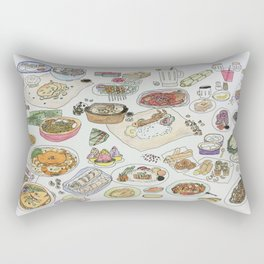 Food  Rectangular Pillow