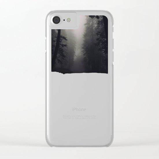 Noir Clear iPhone Case
