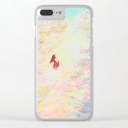 Ascension of Divine Feminine Clear iPhone Case