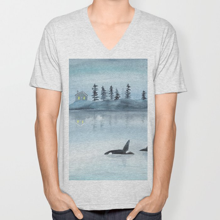 Nature is my home Unisex V-Neck