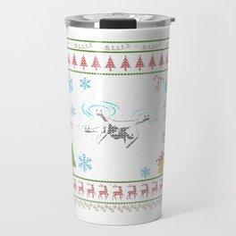 Racing Drone RC Quad Copter Christmas Ugly Shirt Travel Mug
