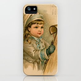 Canadian Girl Maud Humphrey iPhone Case