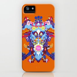 Toon Rorschach I iPhone Case