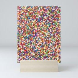 Rainbow Sprinkles Mini Art Print