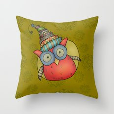 Kooky Puki Throw Pillow