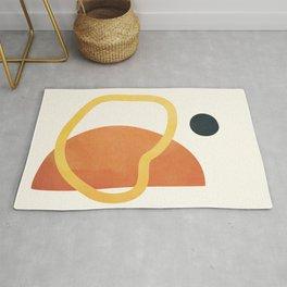 Minimal Abstract Shapes No.40 Rug