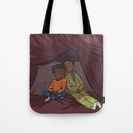 Troy and Abed's Pillow-Blanket Fort Tote Bag