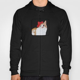 red hat cat  Hoody