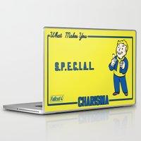 fallout Laptop & iPad Skins featuring Charisma S.P.E.C.I.A.L. Fallout 4 by sgrunfo