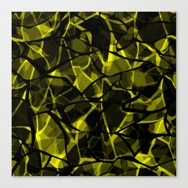 Abstract 31 camouflage Canvas Print