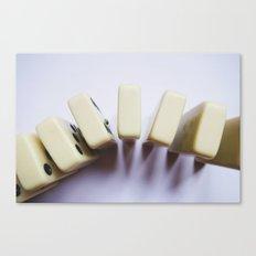 Domino Pattern #2 Canvas Print