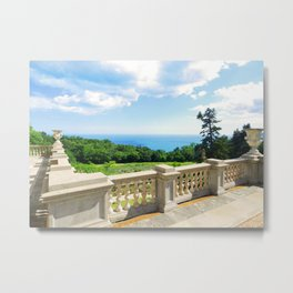 view from the castle balcony Metal Print