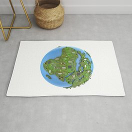 Data Earth Rug
