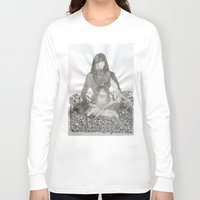 meditation Long Sleeve T-shirts featuring Meditation by Condor
