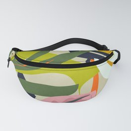 Jungle Abstract 2 Fanny Pack
