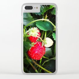 Stems of victoria Clear iPhone Case
