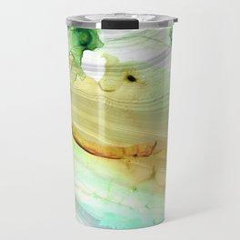 Modern Abstract Modern Art - Seeing Is Believing - Sharon Cummings Travel Mug