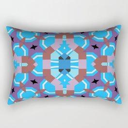 blue sleep Rectangular Pillow