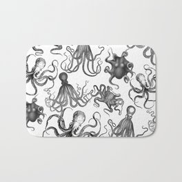 Octopus Kraken Everywhere Bath Mat