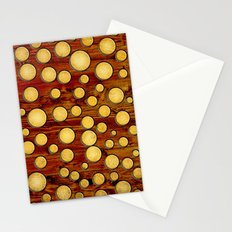 Wood and gold Stationery Cards