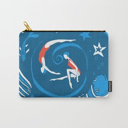 Whirlpool in the deep blue Carry-All Pouch
